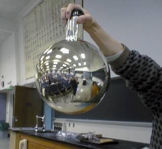 Обзор реакции серебряного зеркала