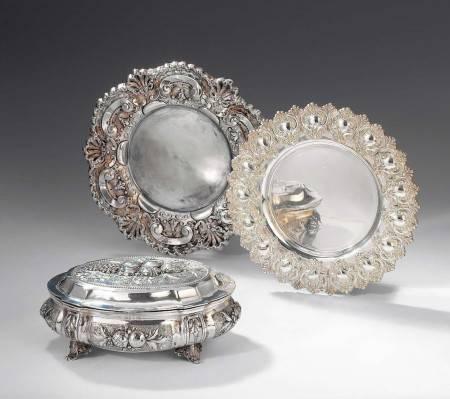 Посуда изготовленная из серебра