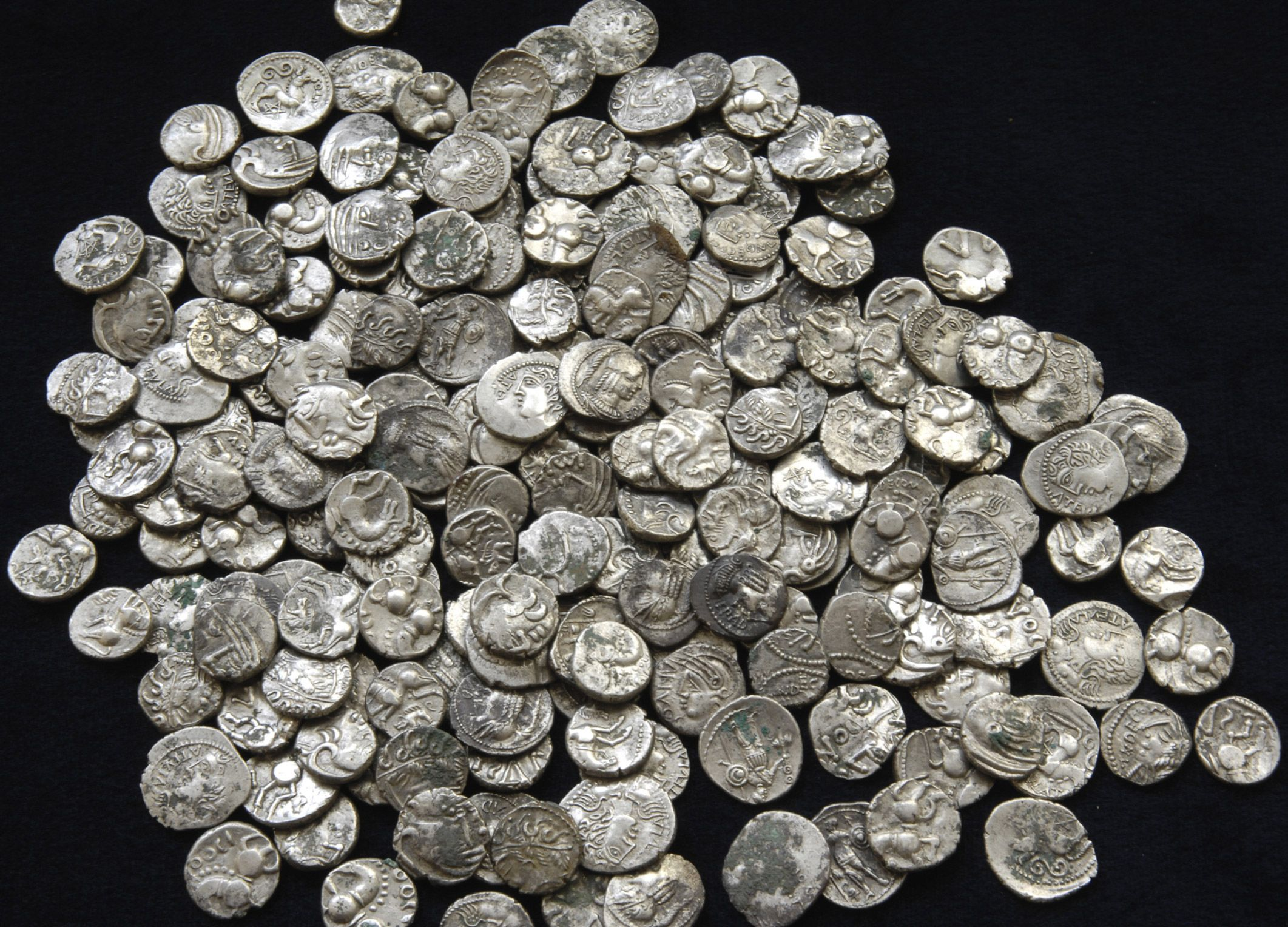 Коллекция серебряных монет