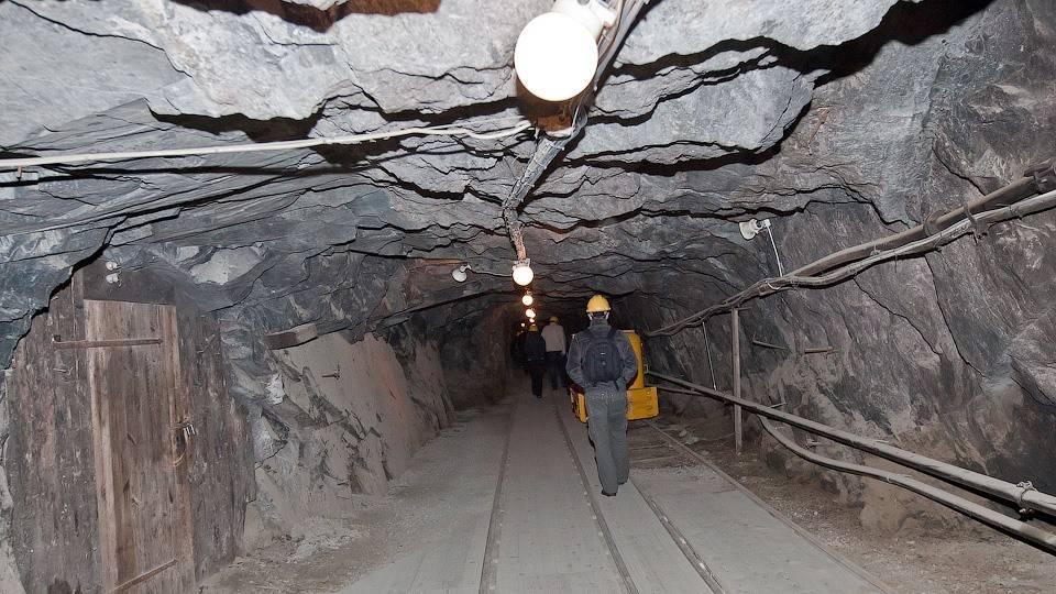 Рудник для добычи серебра