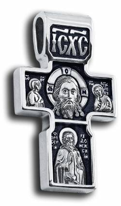 Оригинальный крест с ликами Святых