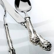 Кухонные приборы из серебра просто раскошны