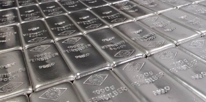 Слитки из серебра постоянно растут в цене
