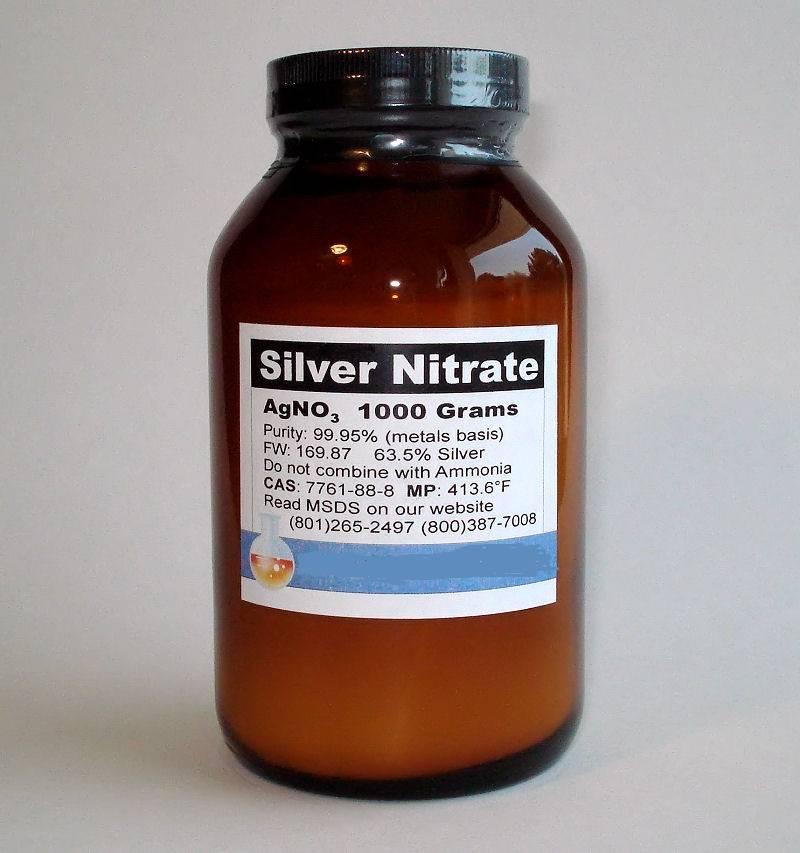 Нитрат серебра - это... Что такое Нитрат серебра?
