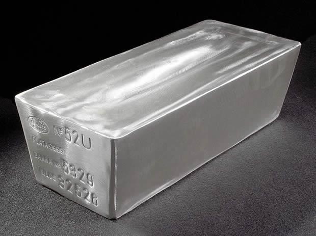 Слиток серебра для хранения в банке