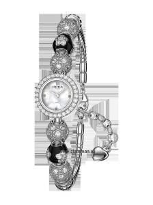 Серебряные женские часы ника