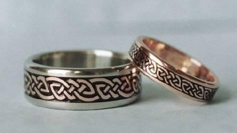 Авторские ювелирные кольца для обручения