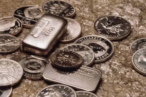 Драгоценный метал в слитках и монетах
