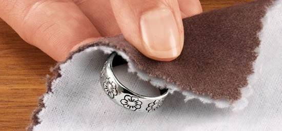 Кольцо после чистки
