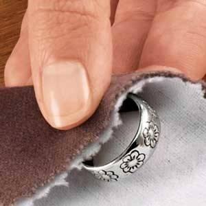 Чистое серебряное кольцо