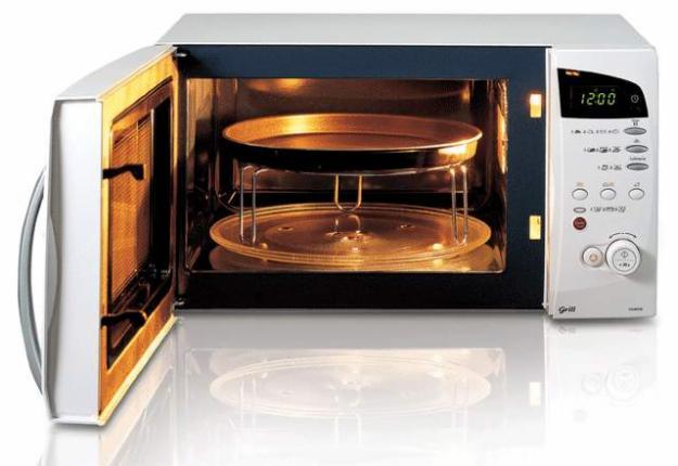 В домашних условиях можно использовать микроволновую печь