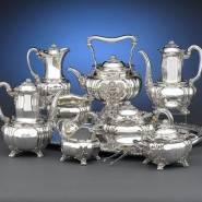 Серебряные кухонные принадлежности