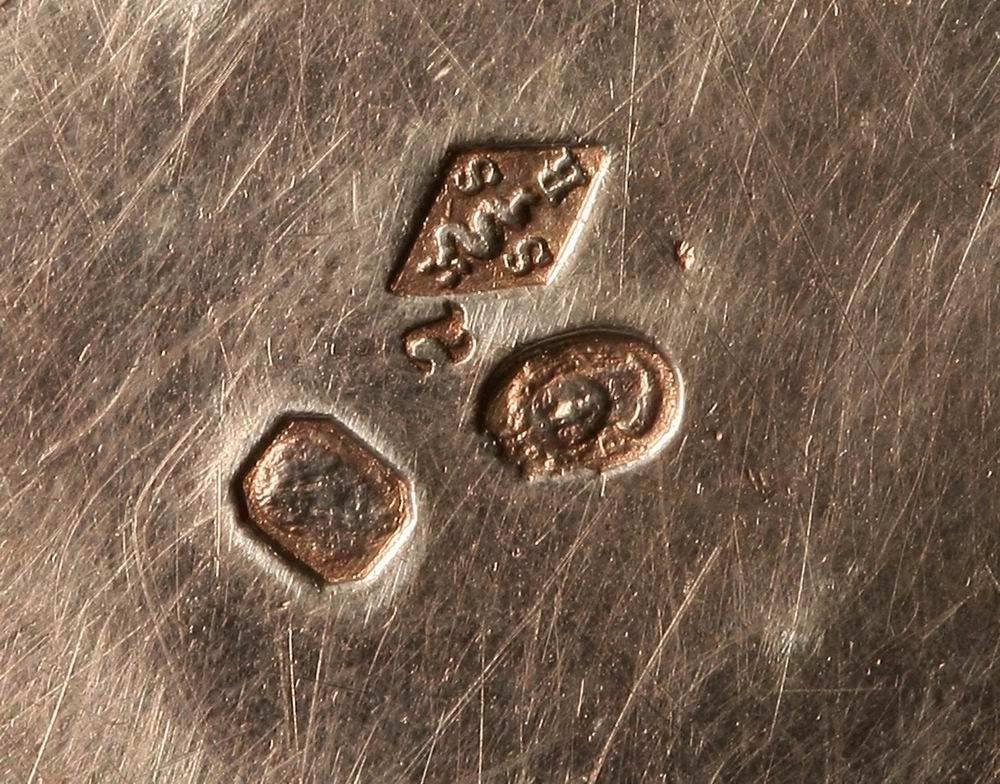 Франция 18 век так маркировала серебряные украшения