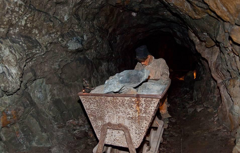 Каменоломня является самым богатым источником серебряной руды