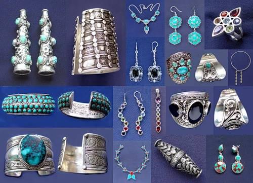 Оригинальный и элегантный стиль украшений из Тибета