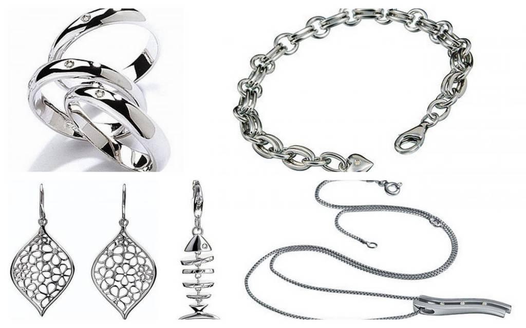Серебро очень стильный и благородный металл
